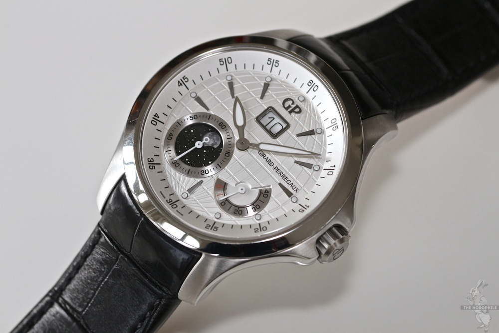 Girard Perregaux Traveler Moon Phases and Large Date